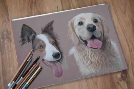In progress – Dougie & Tia (commission)