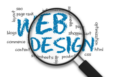 Web design page added