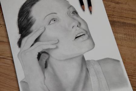Second human portrait