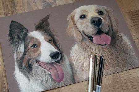Dougie & Tia complete (commission)